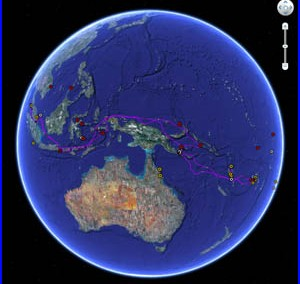 Google Earth Ocean Gallery Demonstration